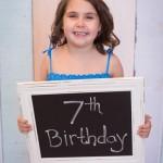 Olivia Turns 7!